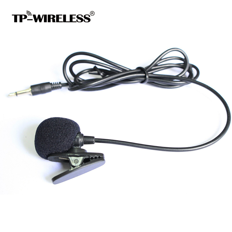 TP-Wireless Envío Gratis Top calidad Cardioid Lapel Tie Clip-on - Audio y video portátil - foto 1