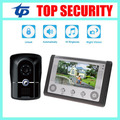 IP65 waterproof door access control 7inch video door phone door intercom system 12 rings smart home wired video door bell