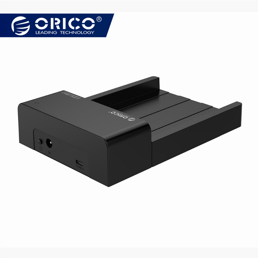 ORICO 2.5 3.5 Pouces HDD Cas SATA À USB 3.1 Gen2 Type C SSD adaptateur haute vitesse HDD Boîte disque dur Lecteur Externe boitier
