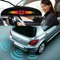 1Set Car LED Parking Sensor Assistance Reverse Backup Radar Monitor System Backlight Display+4 Sensors Free shipping