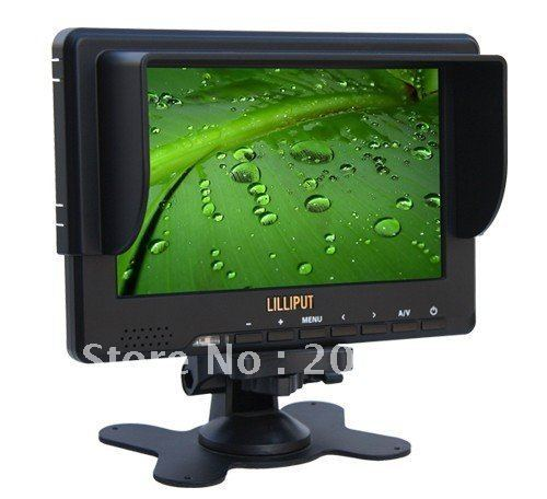 "LILLIPUT 667GL-70NP/H/Y/S 7"" TFT LED monitor with HDMI YPbPr SDI input port SDI HDMI monitor"