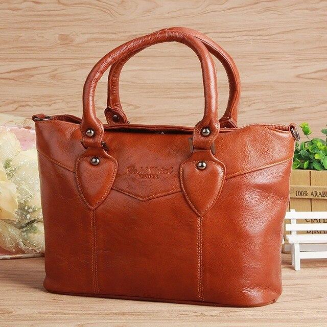 Genuine Leather Cowhide Women Fashion Tote Handbag Messenger Pack Travel Shopping Ladies Brand Famous Cross Body Shoulder Bags