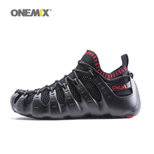 Onemix Rome shoes men & women running shoes outdoor walking shoes sock-like sneakers Slippers environmentally friendly jogging