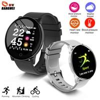 BANGWEI Smart Sports Watch Men's Women Fitness Tracker Watch Heart Rate Monitor Calorie Pedometer Smart Watch Relogio masculino
