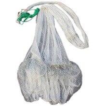 цена на Korea style cast net hand throw net multifilament nylon fishing net fishing network potes rede de pesca Fishing supplies tool