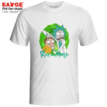 Don't Close Your Eyes T-shirt Rick And Morty Funny Cartoon Design Novelty Skate T Shirt Style Cool Brand Women Men Top Tee