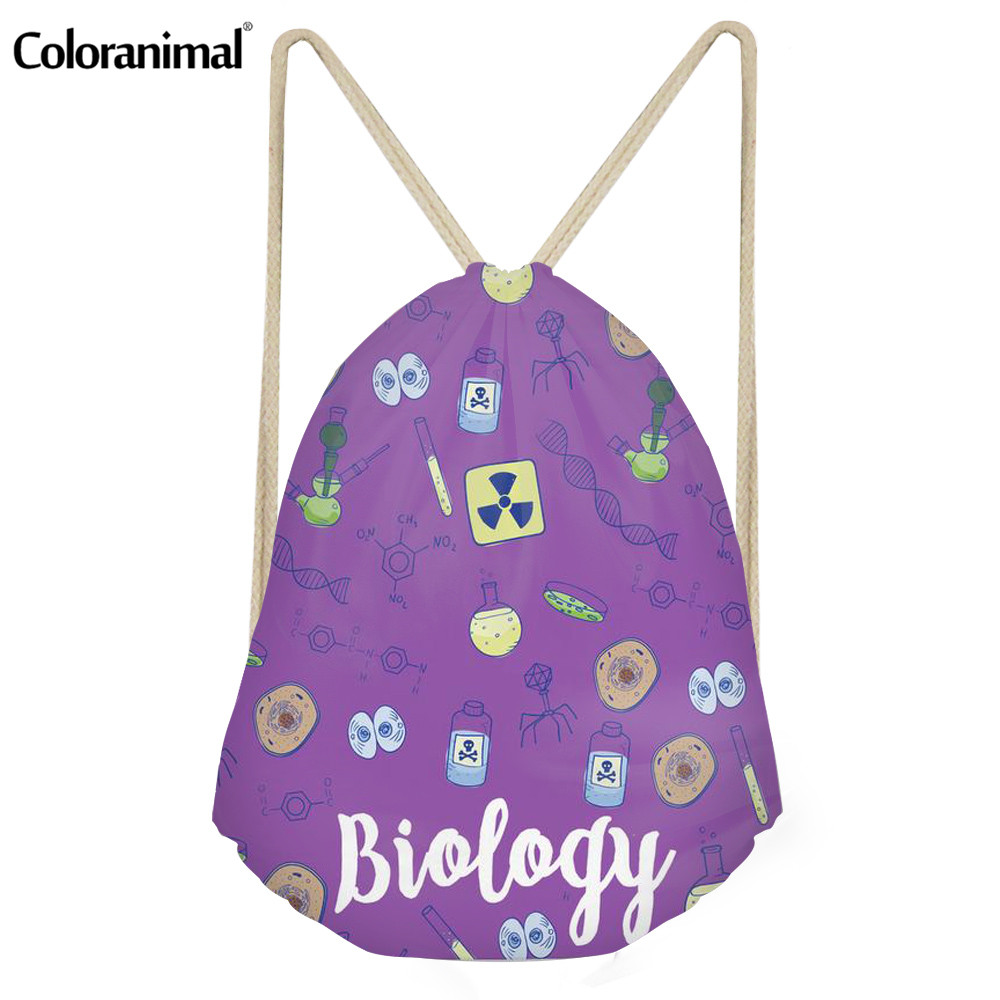 Fitness Biology: Coloranimal Biology Lovers Print Women Men Daypack Travel
