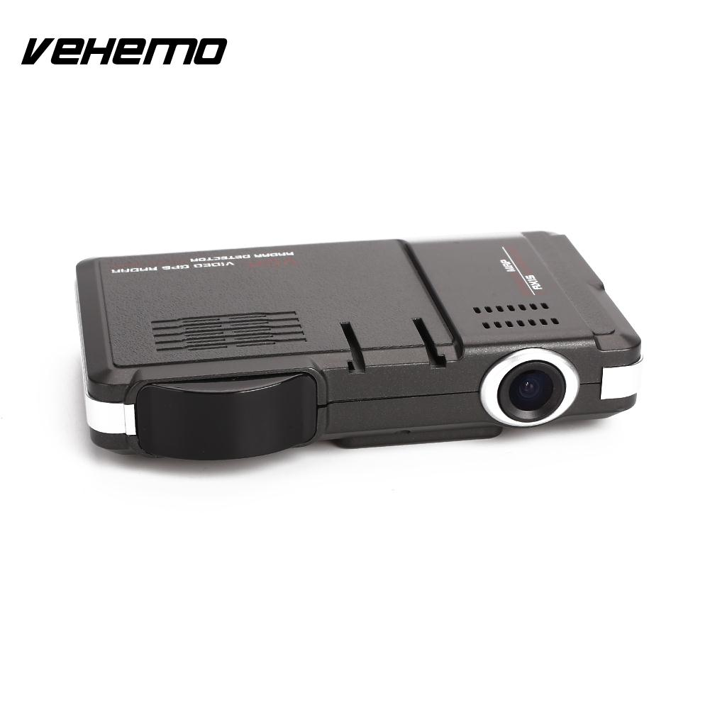 Vehemo 720P Car Speed Laser Video Recorder Car Camera Radar Durable Car DVR Rocorder Traffic Alert Speed Control Detector