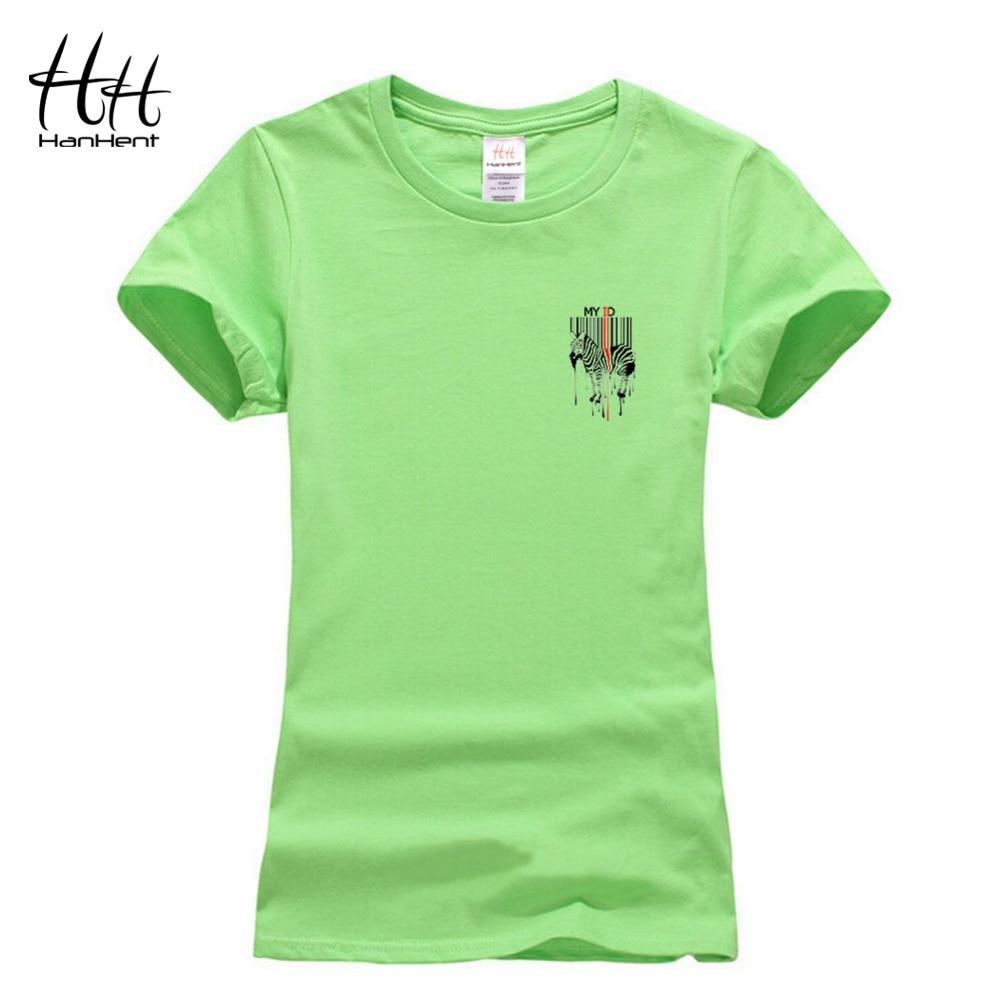 Zebra shirt design - Hanhent Women Tee Shirt Zebra Bar Code Design Tshirts Stripe Summer Cotton Short Sleeve Fashion Casual