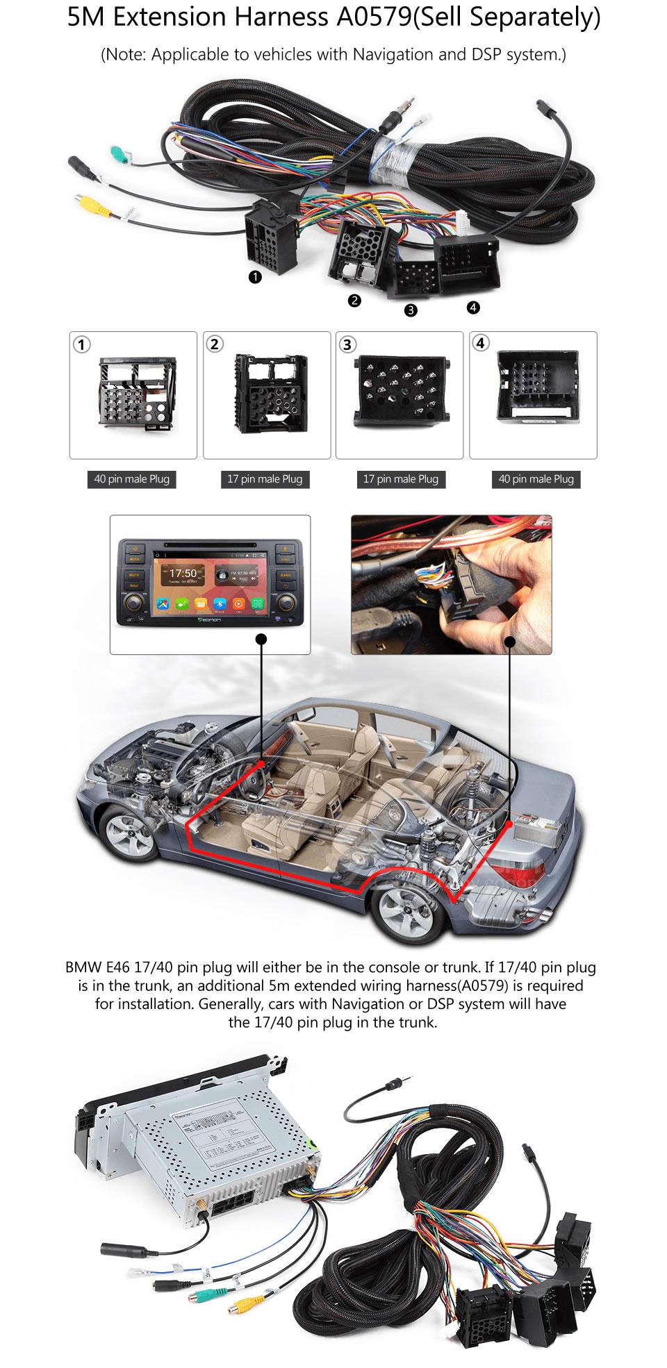 Camera Eonon 7 8Core Android 71 Car DVD Player GPS Navigation