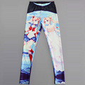 NEW 3421 sexy girl women Cartoon Serenity Sailor Moon Crystal 3D prints Polyester elastic fitness Leggings pants