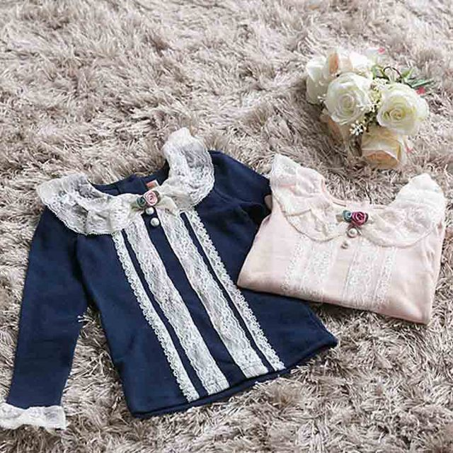 Baby Clothing Children O-Neck Royal Blue Long Sleeve T-Shirt Kid  Clothes Fashion all-match Casual Comfortable Full cotton 5