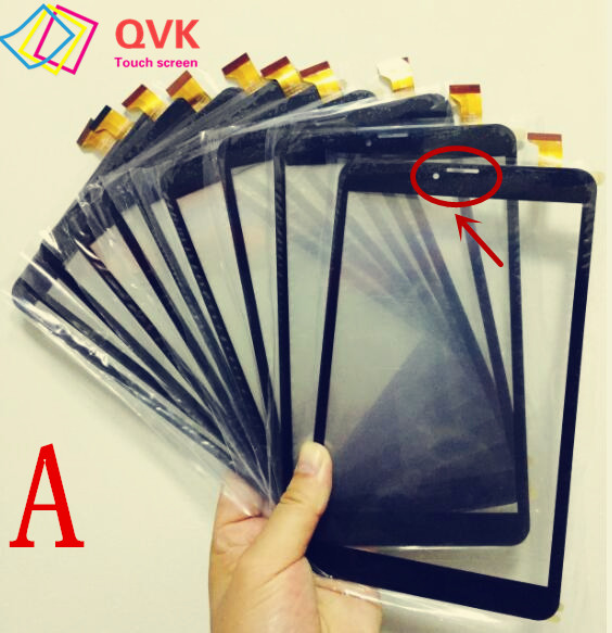 Black 8 Inch Touch Screen Digitizer For Prestigio Muze 3708 3G PMT3708_3G PMT3708D PMT3708C panel Glass Sensor Replacement new touch screen digitizer for 8 inch prestigio muze pmt3708 3g pmt3708d tablet touch panel sensor replacement parts