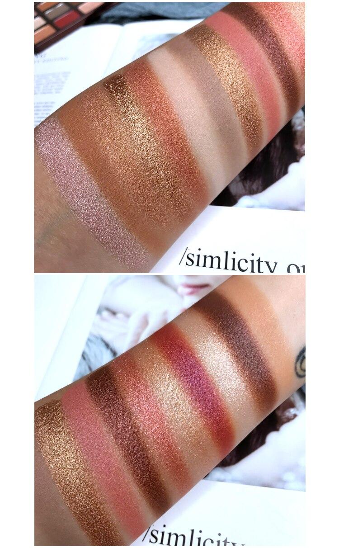 paleta de sombra encantadora 16 cores maquiagem 04