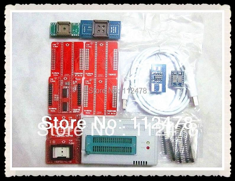 все цены на Free shipping 2018 XGECU TL866CS TL866A TL866II Plus MiniPro USB Universal BIOS nand Programmer TL866CS +11items онлайн