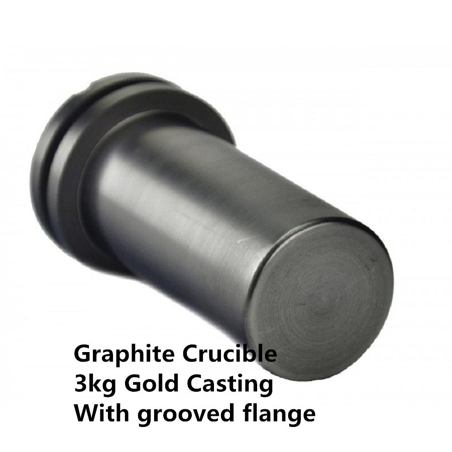 3kg gold casting Graphite Crucible ,Crucible for Induction Melting Furnace to Melt Gold Silver,Melting Casting Gold Silver 25x25mm polishing graphite crucible melting gold silver copper casting tool