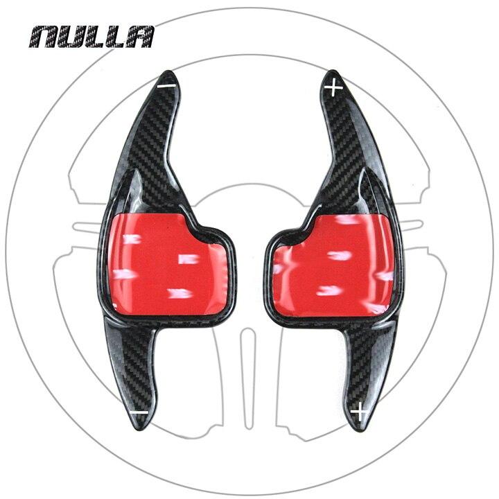 NULLA Carbon Fiber Lenkrad Verlängerung Innen Paddle Shift Für BMW 2 3 4 5 6 7 Series GT F30 f31 F32 F10 F20 F22 X4 Z4