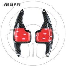NULLA סיבי פחמן הגה הארכת פנים משוט Shift עבור BMW 2 3 4 5 6 7 סדרת GT F30 f31 F32 F10 F20 F22 X4 Z4