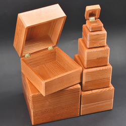 Nid de boîtes-tours de Magie en bois objet disparu apparaissant dans la boîte Magie scène Illusion Gimmick accessoires drôle mentalisme