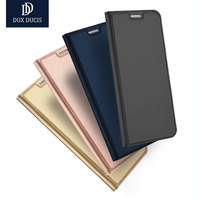 DUX DUCIS Case For Samsung Galaxy S8 Case Luxury Ultra Thin Flip Stand PU Leather Case