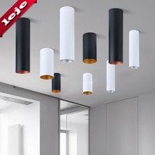 Cylindre cuisine balcon couloir bibliothèque salle de bain montage en Surface 7.5*30cm 10*30cm LED plafonnier 10W 15W