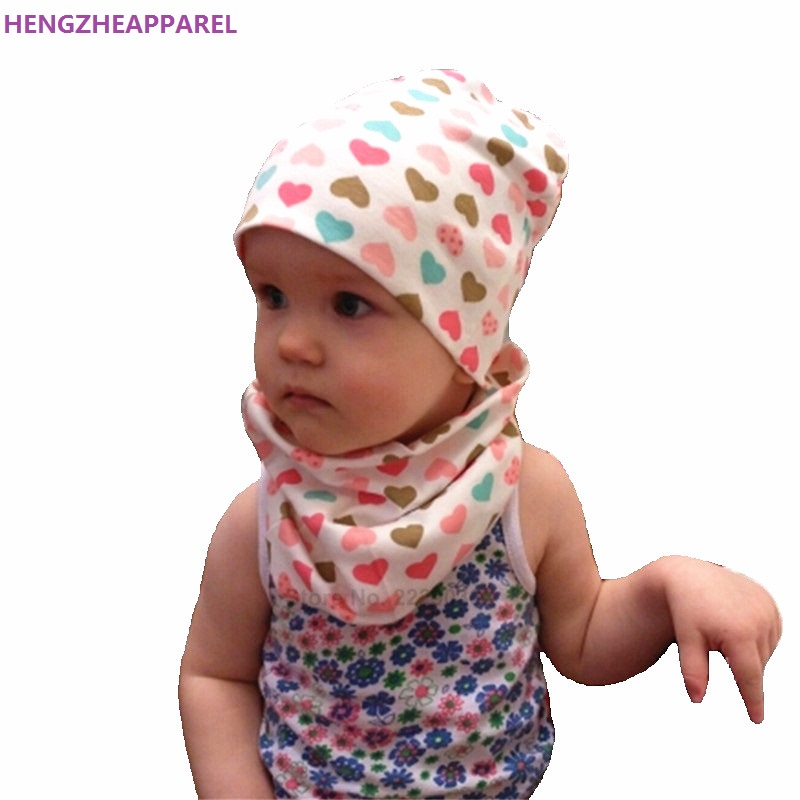 c3d68bb00c3a Retail Wholesale Cotton Children Hat Scarf Collars Spring Autumn ...