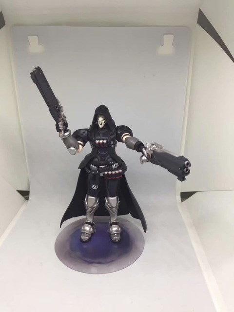 Ow Overwatches 393 Reaper Series PVC Action Figure Collectible Model Toys 17cm 1
