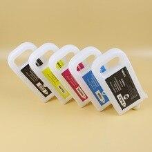 5色700ミリリットルPFI 307リフィルキヤノンIPF830 IPF840 IPF850 PFI 707インクカートリッジpfi 307チップ