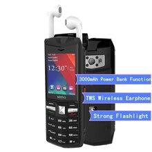 SERVO R25 русская клавиатура Bluetooth гарнитура Мобильный телефон FM длительное время ожидания Dual Sim 6000 мАч аккумулятор внешний аккумулятор для мобильного телефона
