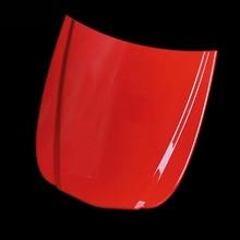 Plastic Red Mini Car Bonnet Car Hood Vinyl Display Model Custom Paint Sample Speed Shape With Painted MO-179S-1 10pcs/Lot