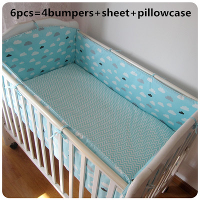 Promotion! 6pcs Baby Bedding Crib Set Bed Bumpers Animal Cotton Bedsheet Pillow Bedding Se ,include(bumpers+sheet+pillow cover)Promotion! 6pcs Baby Bedding Crib Set Bed Bumpers Animal Cotton Bedsheet Pillow Bedding Se ,include(bumpers+sheet+pillow cover)