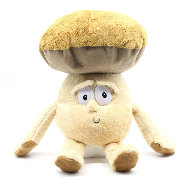 "Multiple Styles Goods in stock Fruits Vegetables cauliflower Mushroom blueberry Starwberry 9"" Soft Plush Doll Toy"