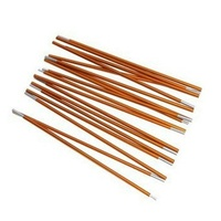 2pcs Set Hot Sale Outdoor Camping Tent Pole Aluminum Alloy Tent Rod Spare Replacement 8 5mm