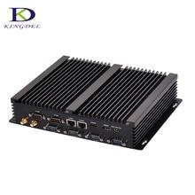 6*RS232 Fanless Industrial Computer Intel HD Graphics Dual Core i7 5550U Dual HDMI Dual LAN Nettop mini pc i5 4200U i3 4010U