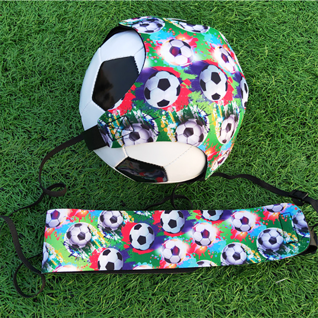 New Soccer Ball Trainer Adult Football Accessories Solo Auxiliary Circling Belt Soccer Training Equipment Hands Free Practice