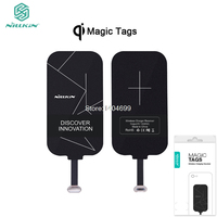 Universal Qi Wireless Charger Receiver Charging Nillkin Magic Tags Coil Micro USB Type C Adapter For
