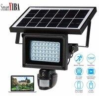 SmartYIBA Солнечный Мощность Водонепроницаемый Открытый безопасности Камера ПИР обнаружения движения видеонаблюдения Камера видео Регистрат