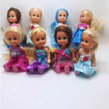 Elsa Anna Girls Princess Dolls Joint Doll Toy Lovely Doll Christmas Gift Toys For Children стоимость