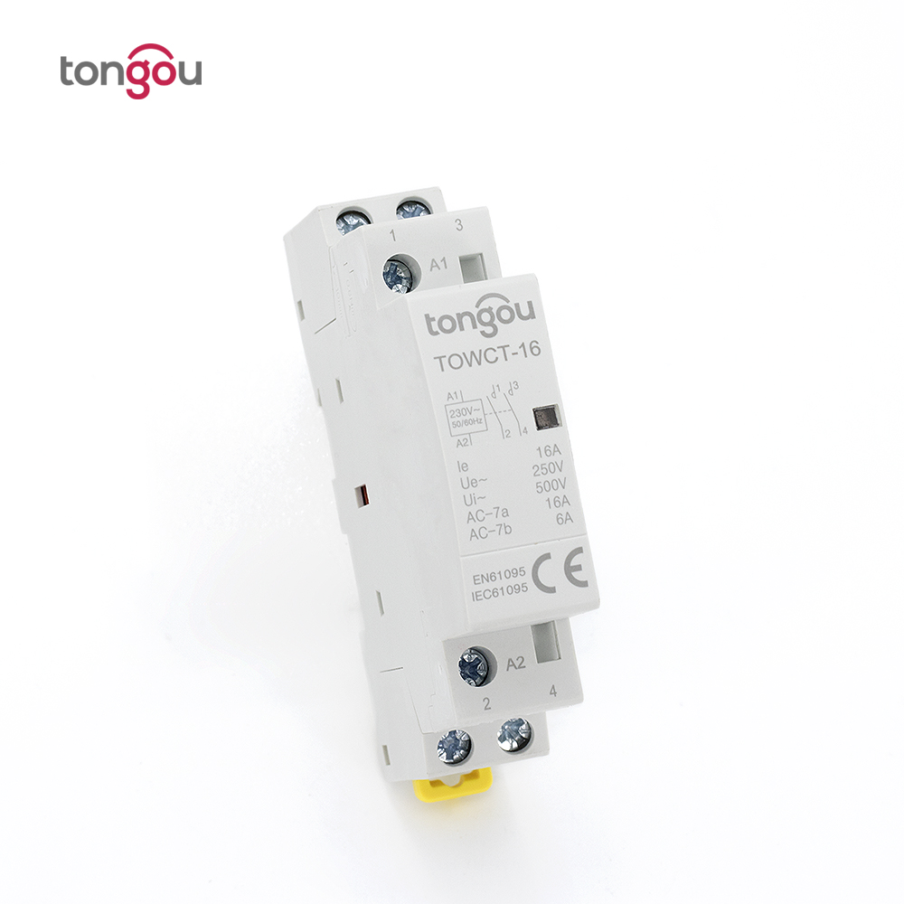 2P 16A 2NO CE CB Din Rail Household AC Contactor for Household Home Hotel Resturant 220V/230V