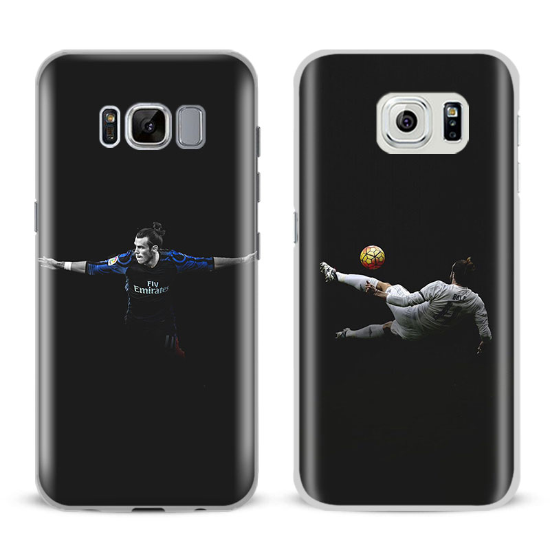 Gareth Bale For Samsung Galaxy S4 S5 S6 S7 Edge S8 Plus Note 8 2 3 4 5 A5 A710 J5 J7 2017 Fashion Mobile Phone Case Cover bags