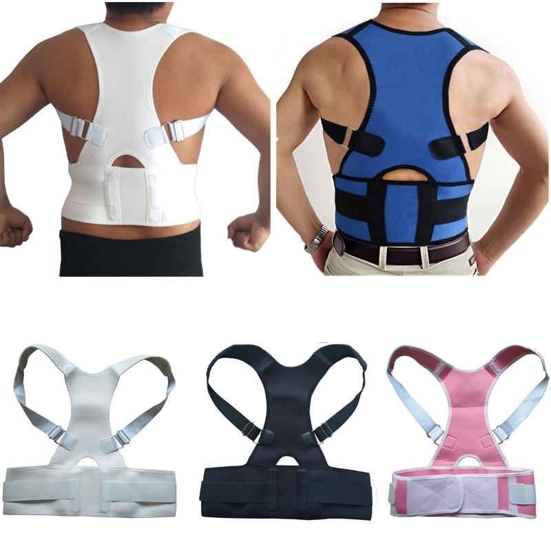Adjustable Therapy Posture Corrector Spine Strap Belt Posture Shoulder Lumbar Belly Support Belt Back Brace Corset For Men Women