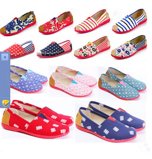 Fashion old Beijing Canvas Women Flat Shoes Women's Flats Womens Casual Lazy Shoes Spring Summer Loafers Plus size 35-40 new 2017 spring summer women shoes pointed toe high quality brand fashion womens flats ladies plus size 41 sweet flock t179