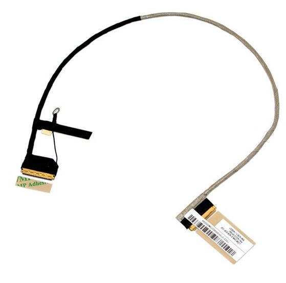WZSM Wholesale New LCD Flex Video Cable for TOSHIBA Satellite P50 P55 laptop LVDS cable 30pin P/N 1422-01EF000 new laptop lcd cable for lenovo ideapad y50 70 30pin no touch p n dc02001yq00 replacement repair notebook lcd lvds cable