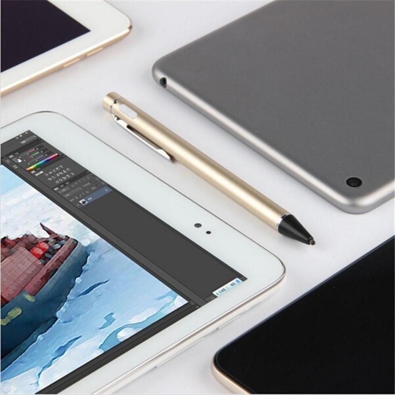 imágenes para Pantalla capacitiva de la pluma de carga usb activo fine point stylus para iphone, ipad, samsung, Android, y La Mayoría de Las Pantallas Táctiles