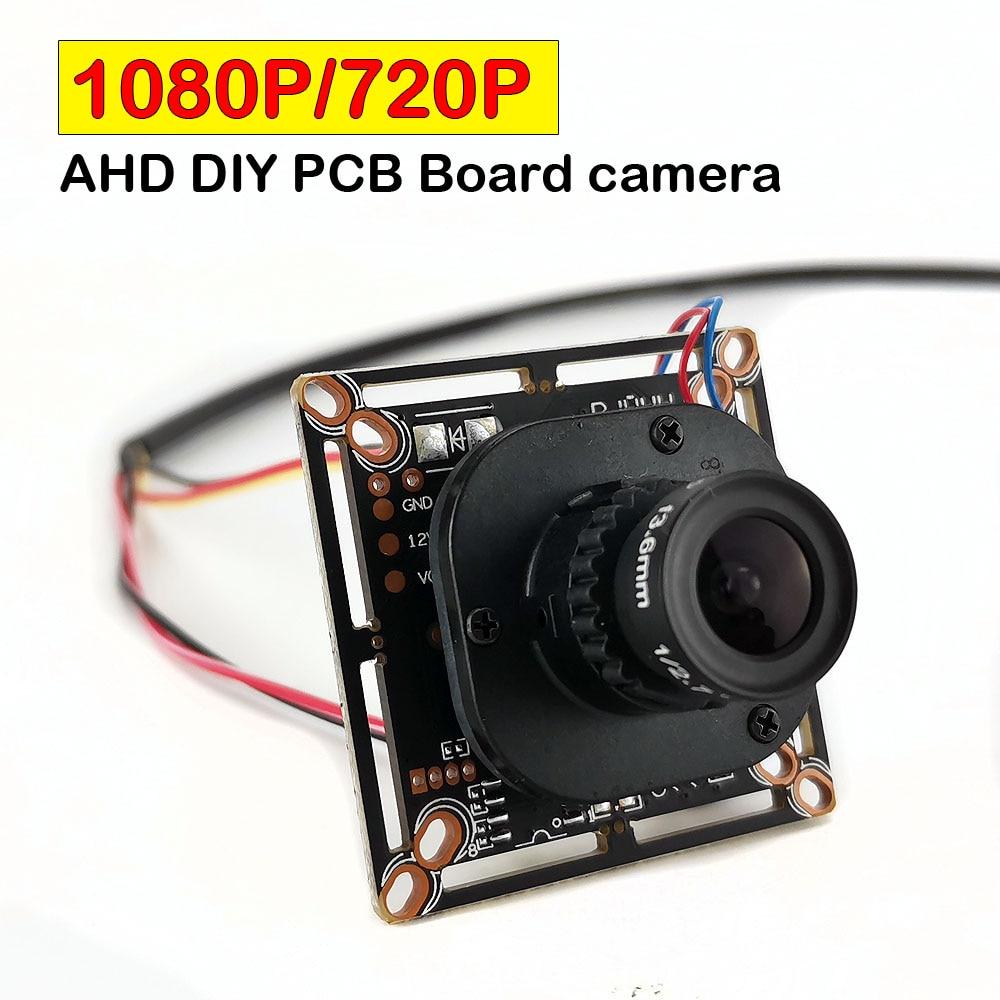 Low Light Hidden HD 700TVL Analog Mini Spy CCTV Security camera 3.6mm Board Lens