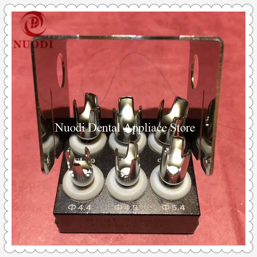 Dental Implant Hear Abutment Remove Cut Drill Kit/ Neat Tissue Former Kit/Dental Implant Tools
