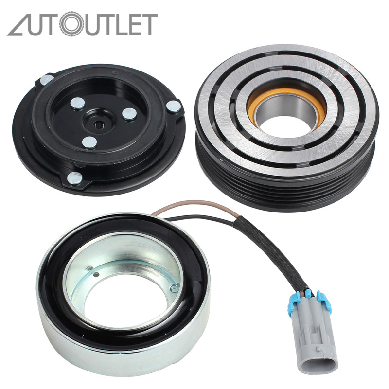 AUTOUTLET Air Conditioning Compressor Magnetic Coupling 0165003 0 24432392 For Delphi CVC OPEL Astra G H