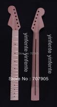 "1x Electric guitar neck Mahogany Maple wood Fretboard Truss Rod 22 fret 25.5"" Unfinished Dropshipping Wholesale"