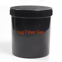 MSHARE Fiber Gel Nail Gel Strengthening Extension Glossy Soak Off UV Nail Gel Varnish 1kg