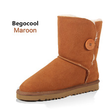 2017 New Fashion Winter Warm Classic UG Boots For Women Casual Flat Ankle Snow Boot Super Quality Australia Boots Size US 4-13
